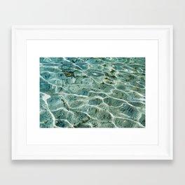 Silver Glen Springs, No. 2 Framed Art Print