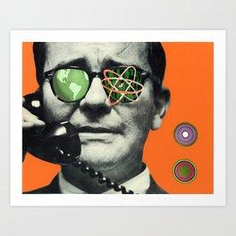 Atomic Eye Art Print