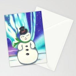 Frosty Stationery Cards