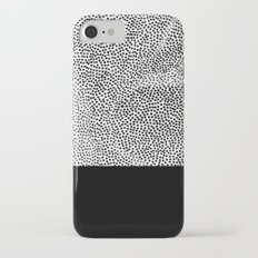 Dots and Black iPhone 7 Slim Case