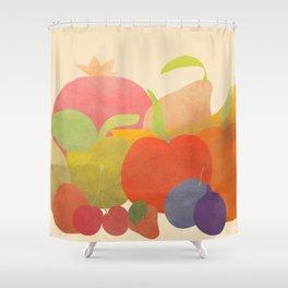 A Bundle of Fruit Shower Curtain