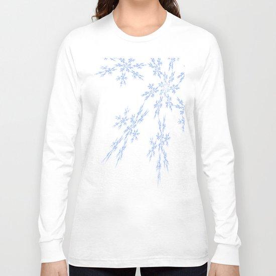 Snowflakes Falling Long Sleeve T-shirt