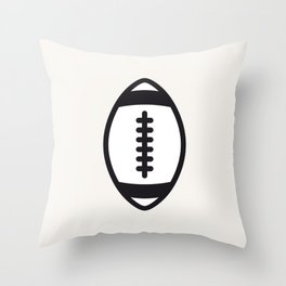 Rugby - Balls Serie Throw Pillow