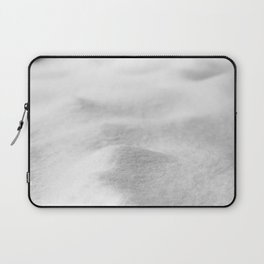 Snow Close up // Winter Landscape Powder Snowing Photography Ski Snowboarder Snowy Vibes Laptop Sleeve