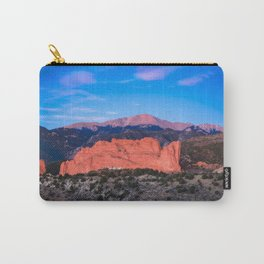 Pikes Peak - Sunrise Over Garden of the Gods in Colorado Springs Carry-All Pouch