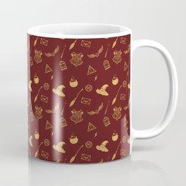 Gryffindor Pattern Coffee Mug