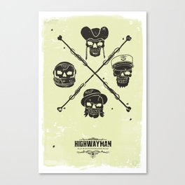 The Highwayman Canvas Print