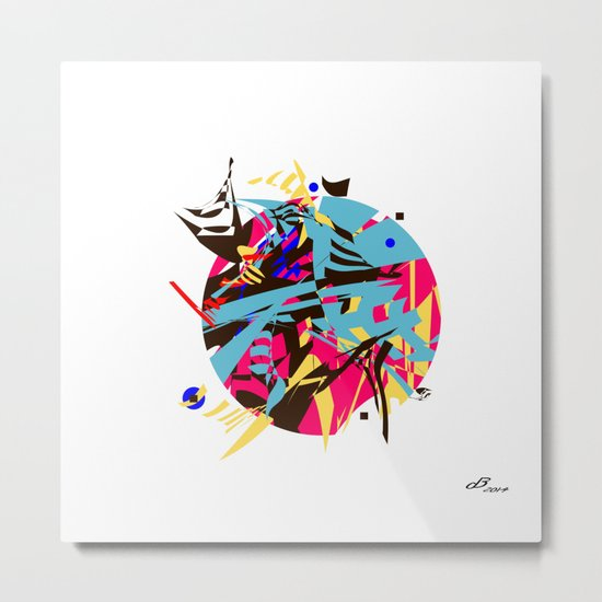 Abstract #14 Metal Print