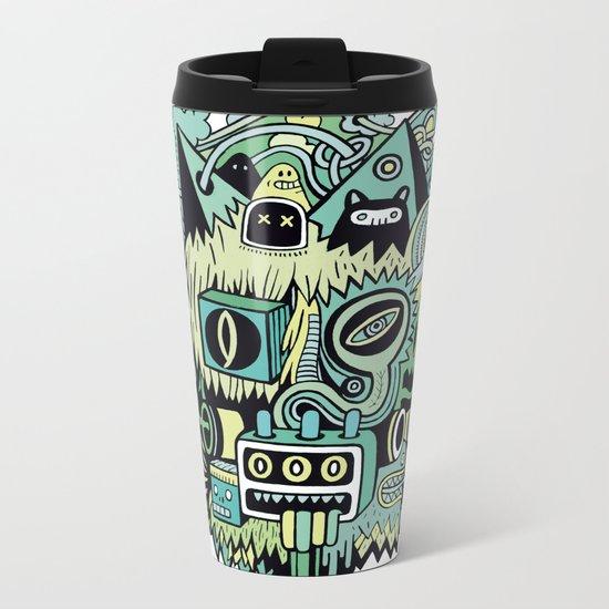 Double Je Metal Travel Mug