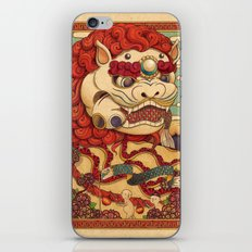 Chinese Lion iPhone & iPod Skin
