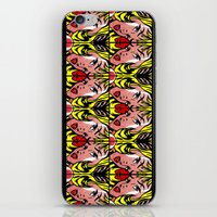 popart iPhone & iPod Skins featuring PopArt Girl by BURPdesigns