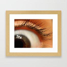Super Startled? Framed Art Print