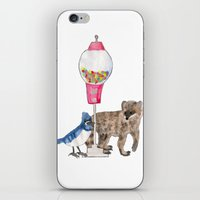 regular show iPhone & iPod Skins featuring Regular Show by Hard Lily
