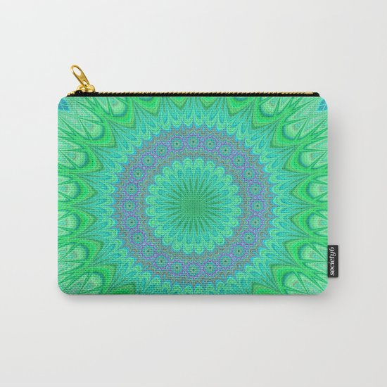 Crystal mandala Carry-All Pouch