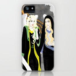 Sammael and Mammon iPhone Case