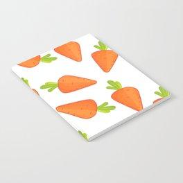 carrot pattern Notebook