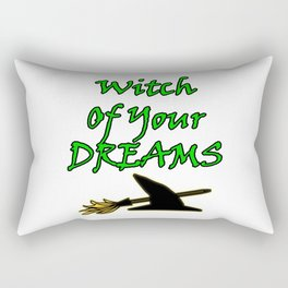 Witch Of Your Dreams Rectangular Pillow