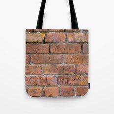 Initially Brick Tote Bag
