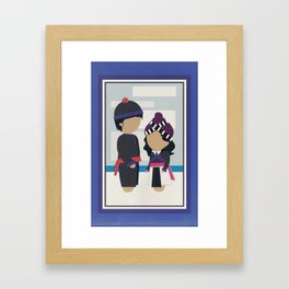 Another Love Story Framed Art Print