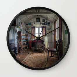 Dylan Thomas writing shed Wall Clock