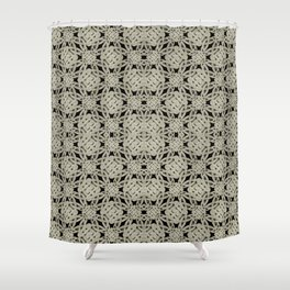 Interlace Arabesque Pattern Shower Curtain
