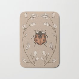 The Ladybug and Sweet Pea Bath Mat