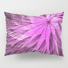Abstract Flower-Purple Pillow Sham