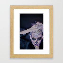 I, MEXICAN SKULL Framed Art Print