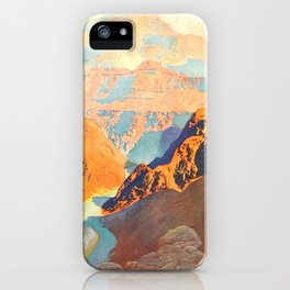 Romantic America 1913 - The Grand Canyon iPhone Case