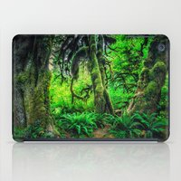 giants iPad Cases featuring Mossy Giants by JMcCool