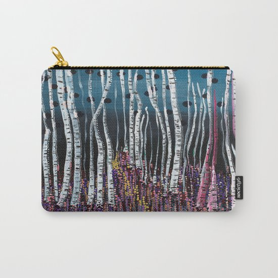 :: Pink Moss :: Carry-All Pouch