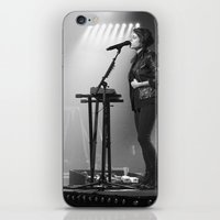 tegan and sara iPhone & iPod Skins featuring Tegan And Sara by Adam Pulicicchio Photography