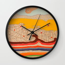 obstructions Wall Clock