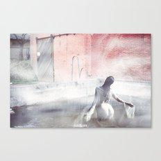 Fog Portrait Canvas Print
