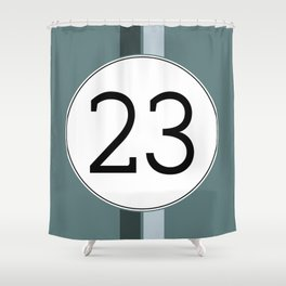 Rally 23 Shower Curtain