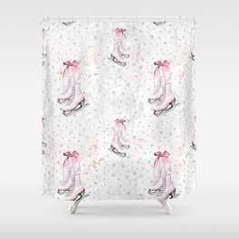 Figure Skating #3 Shower Curtain