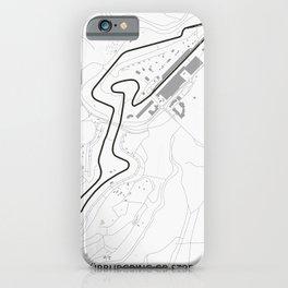 Nurburgring iPhone Case