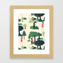 Modern Romance Redux Framed Art Print