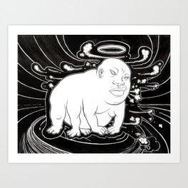 Bhudda thing Art Print