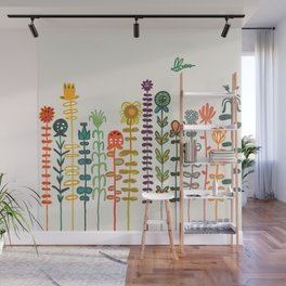 Happy garden Wall Mural