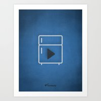coldplay Art Prints featuring COLDPLAY. by Bandopoly