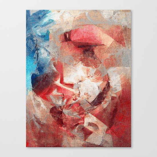Anthropophagic Deliriums Canvas Print