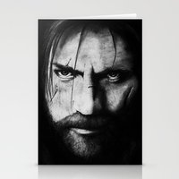 lannister Stationery Cards featuring Jaime Lannister by Raye Hargis