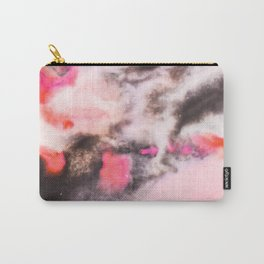 Modern marble Pink Carry-All Pouch