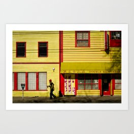 Eastside Art Print