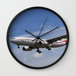 Middle Eastern Airlines Airbus A330 Wall Clock