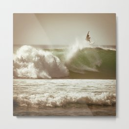 Ride on Bali Metal Print