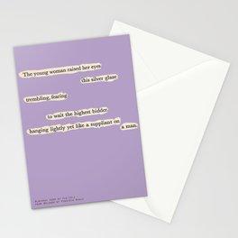 Blackout Poem {008.} Stationery Cards