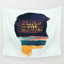 Mind Over Matter Wall Tapestry