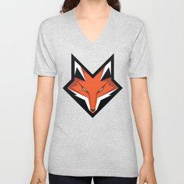 FOX ART Unisex V-Neck
